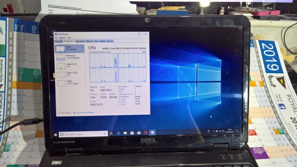 Dell Inspiron N5110 laptop Intel core i5 | in Newcastle, Tyne and Wear |  Gumtree