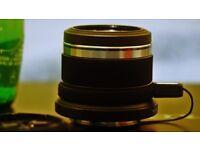 Lost camera lens