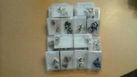 Earrings 22 pairs
