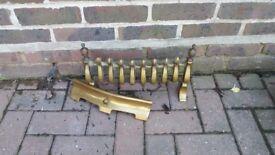 Brass fire front vender 2 part
