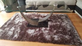 Glass living room furniture (£125 for individual table or £180 as a full package)
