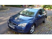 2007 FORD FOCUS GHIA 1.8 TDCI 80000 MILES ONLY FULLY LOADED SATNAV LEATHER PLUS MUCH MORE EXTRAS