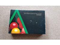 Crystalate Snooker balls