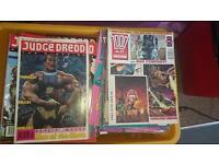 Joblot of 200+ Judge Dredd Comics