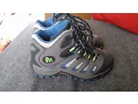 Merrell kids walking boots size 11