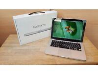 "Apple MacBook Pro 13"" * i7 * 8GB * 120GB Extreme fast SSD * Windows 7 + macOS Sierra"