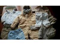 BABY BOY 0-3 MONTHS JOB JOB, SOME BNWT JASPER CONRAN, NEXT, POOH BEAR,
