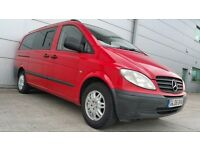 2006 | Mercedes Vito | 8 seater | 2.2 Diesel Manual | Sat Nav | Leather | Reverse Cam |Like Viano