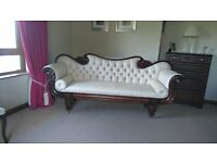 Double ended chaise lounge