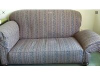 Victorian Drop Arm 2 Seater Sofa REUPHOLSTERY PROJECT