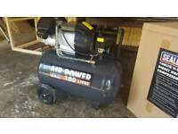 Sealey 100 litre 3HP v-twin compressor