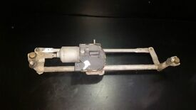 VW GOLF MK5 2006 FRONT WIPER MOTOR AND LINKAGE 1K2955119B
