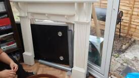 Fire surround for collection