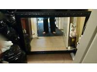 Lovely large black mirror