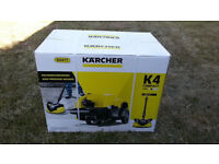 Karcher K4 pressure washer with patio cleaner and detergent ALL NEW