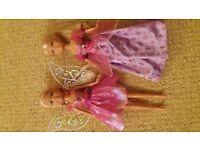 Princess doll and Fairy Doll