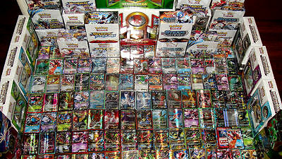 Pokemon 100 Card Premium Lot Guaranteed Mega   Full Art   Secret Ex Gx   1 Pack