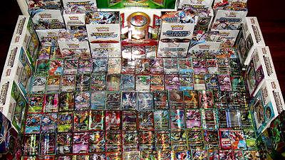 Pokemon 100 Card Premium Lot GUARANTEED Mega / Full Art / Secret EX GX + 1 Pack