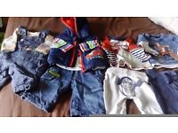 Boys newborn, first size tiggee outfits