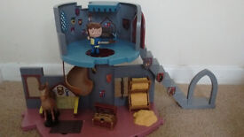 Cbeebies Mike the Knight castle playset