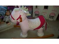 Mamas & papas pony and Disney Frozen ride on