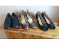 Ladies Shoes 3 pairs