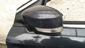 Ford Mondeo mk4 facelift passenger side wing mirror complete dark grey 2011-2015 breaking spares