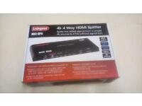 4 way 4K HDMI splitter