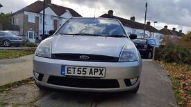 Ford Fiesta 1.25 silver, 5dr, only 1 lady owner