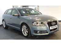 2013 13 AUDI A3 1.6 TDI SPORT 5D 103 BHP DIESEL *PART EX WELCOME*2 YEARS WARRANTY*FINANCE AVAILABL