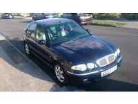 Rover 45 Spirit Diesel Saloon. Manual with full heated leather