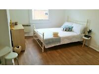 Newly refurbished part furnished studio flat available NOW! - BRUNSWICK HILL