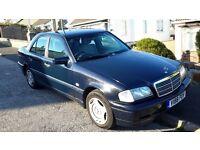 Mercedes C200 Classic 1999 Auto Blue