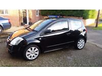 Selling due to going Travelling! Limited edition Citroen C2 1.6 Gt.