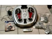 Electric foot massager and circular