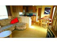 Stunning Static Caravan for Sale with double glazing central heating. Not ayr saltcoats or glasgow