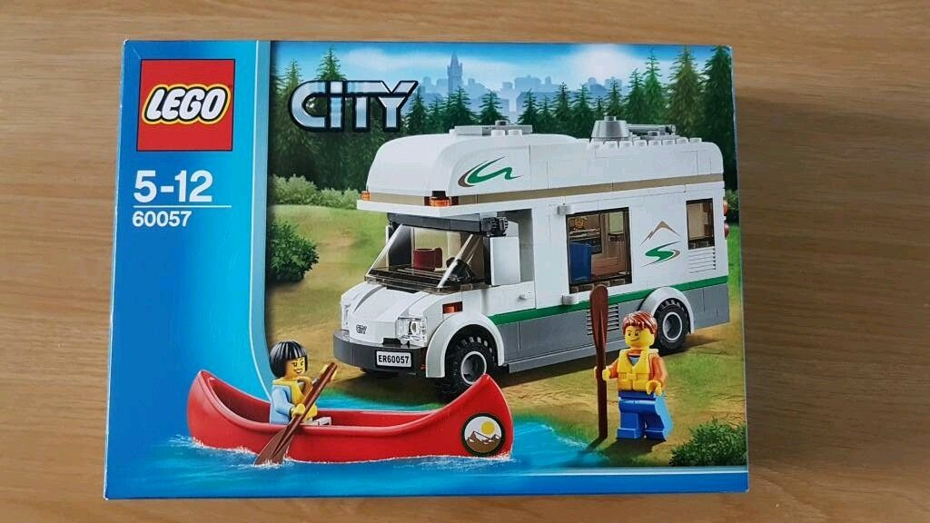 Lego Campervan And Canoe No 60057 In Chandlers Ford Hampshire