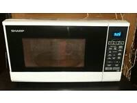 Sharp 800w digital microwave. Delivery available
