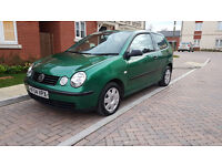 Polo 1.4 2004 Auto Mot:July FULL Service history NEW: brakes tyres timing belt IMACULATED inside