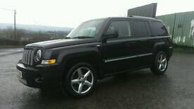 2008 Jeep patriot limited edition with full gas conversion and full mot only 62k miles