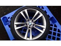 BMW 3 Series F30, 5 spoke alloy wheels refurbished