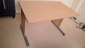 Beech office desk with very good quality - Momento Office Desk 1200mm