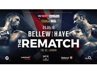 Bellew Vs Haye x2 Tickets