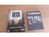 The Walking Dead Seasons 1-6 DVDs