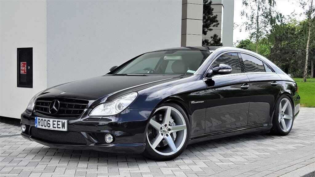 2006 mercedes cls 55 amg limited edition designo porcelain. Black Bedroom Furniture Sets. Home Design Ideas