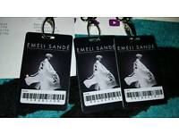 3 Emeli Sande Collector Tickets Birmingham O2 Academy Sunday 19th March