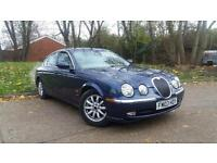 Jaguar S-Type 2.5 V6 SE 4dr 2003(03) FULL SERVICE HISTORY*HPI CLEAR