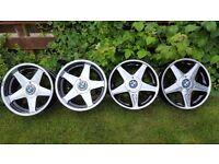 "18's Genuine Classic Wheels Alloys""AZEV /ATEV""5X120 width J8,5&J10 BWM models VW T5"