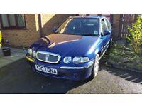 Rover 45 1.4 petrol Hatchback