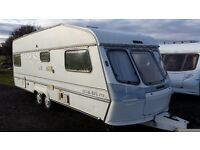 CARAVAN LUNAR DELTA 590- 4 BERTH TWIN AXLE